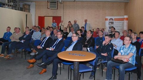 Inauguration of 4th SCM GROUP CNC machine at VDAB Ghent.