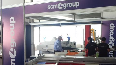 Fenafor Exhibition: SCM Group's machinery in Perù
