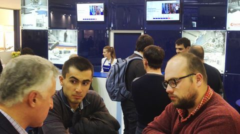Leading Technologies and exhibition stands at Lesdrevmash, Moscow