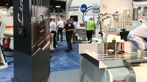 SCM Group North America announces a successful presence at the 2014 International Woodworking Fair