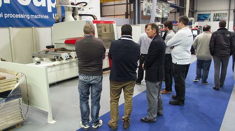 MANY ORDERS PLACED AT SCM GROUP UK's OPEN DAYS