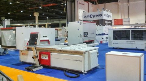 Successful first time in Dubai for Scm Group!