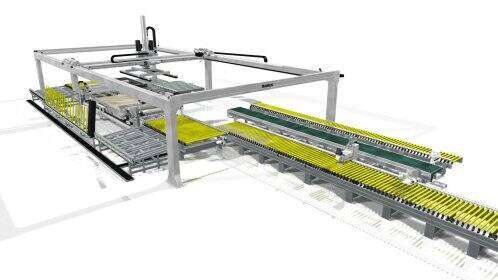 Beam saws - Flexible panel sizing cells - gabbiani cubo