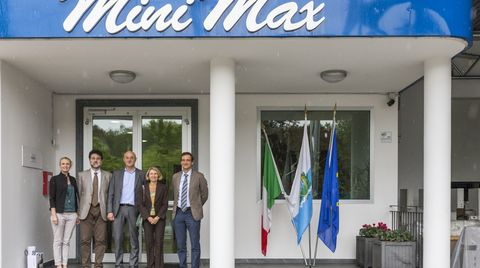 Visit of the Italian Ambassador to Minimax San Marino