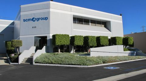 Grand Opening of the new Scm Group branch in California