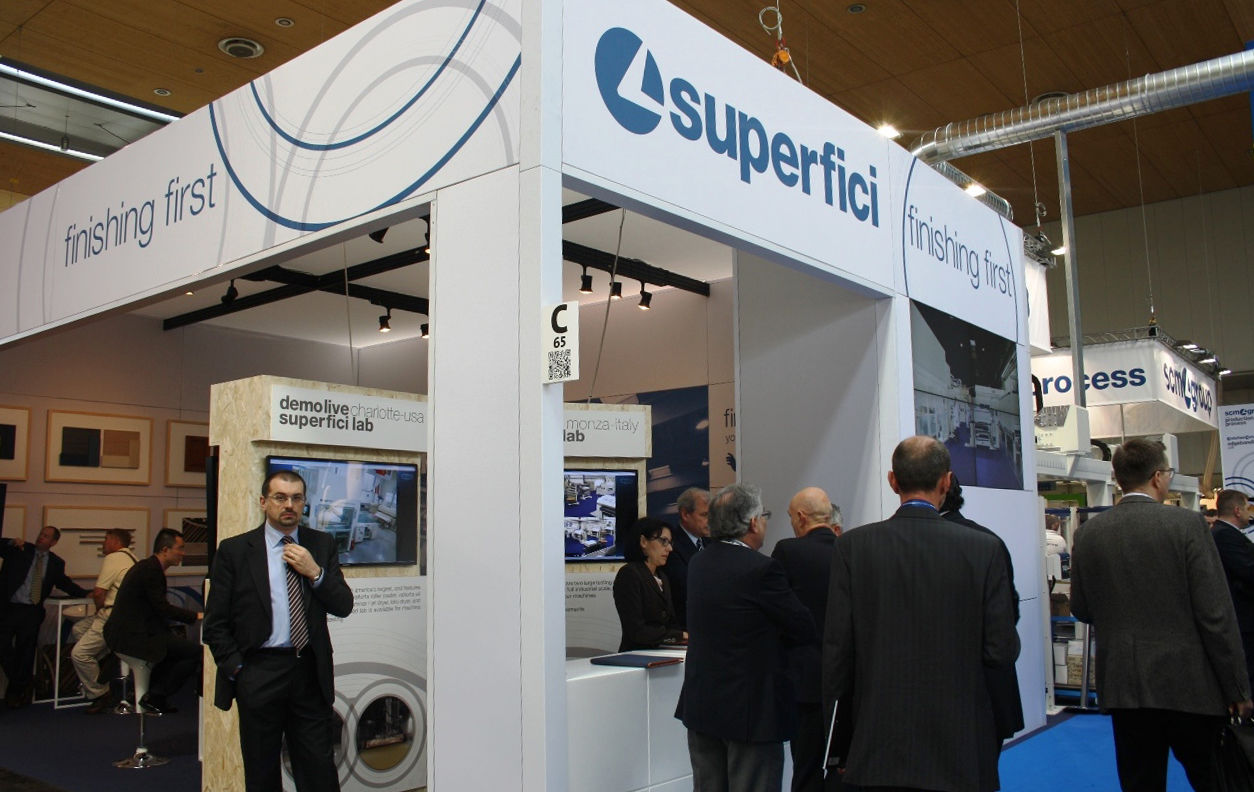 Finishing first! Superfici at Ligna 2013