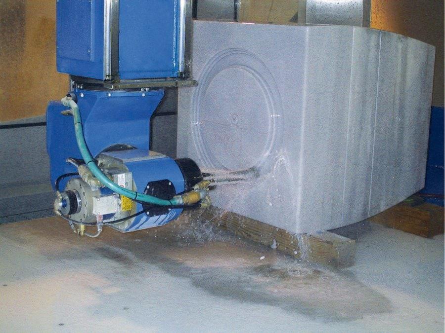 Brembana Maxima Stone - 5/6 Axes Machining Centre - CMS Stone