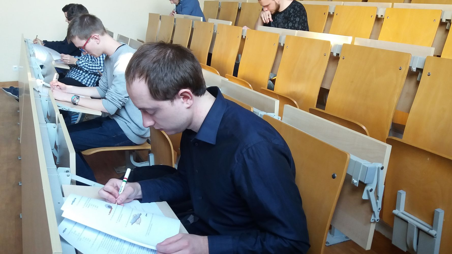 Knowledge test at the University of Life Sciences in Poznan