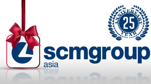 Scm Group Asia celebrates the 25th anniversary!