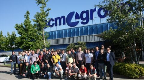 Czech and Slovakian customers @ the Scm Group HQ