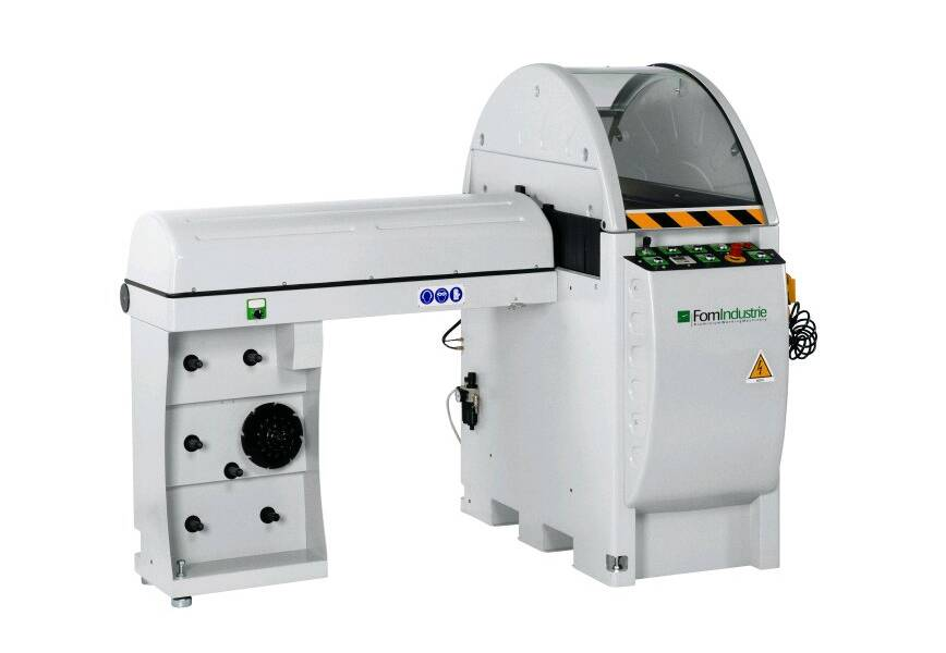 Aluminium Processing - End Milling - FOM Mistral Aluminium End Milling Machine