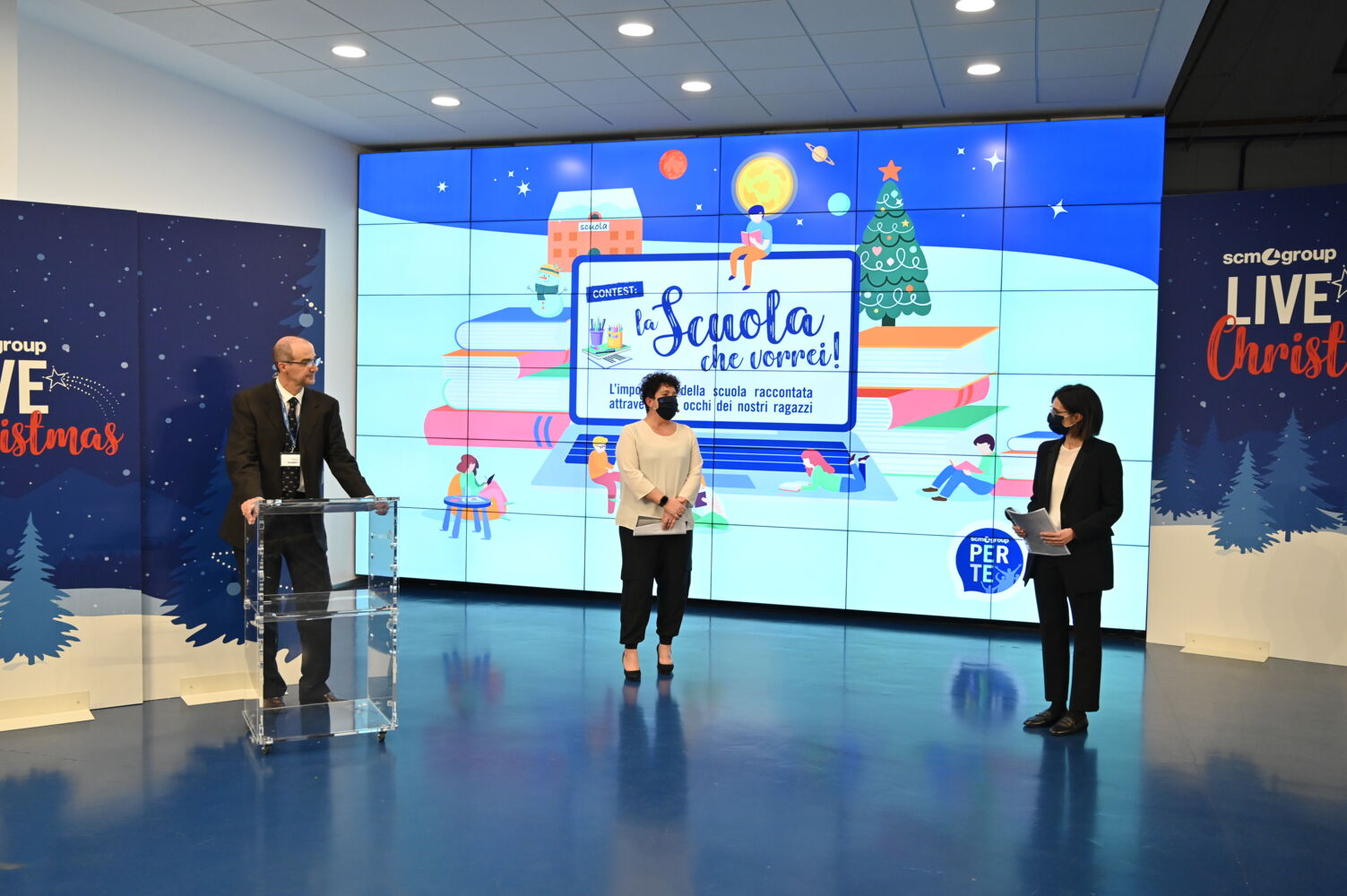 Scm Group Live Christmas: lots of new features for the pre-Christmas event at the Italian plants