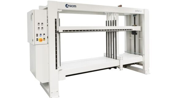 Electro Mechanical Cabinet Clamp Action E - SCM Group