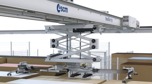 Automatic 3 Axes Storage Flexstore EL - SCM Group