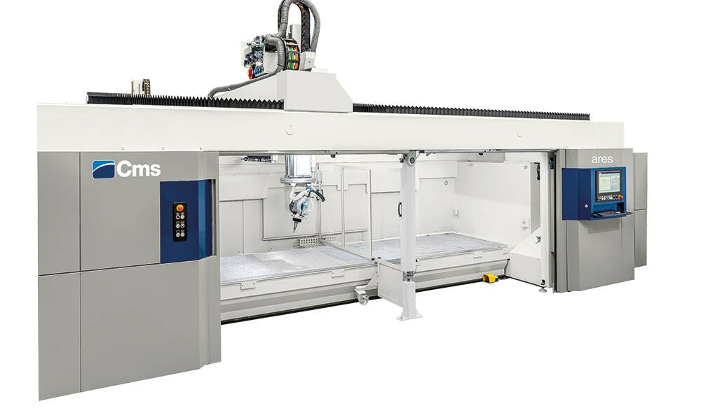 5-axis CNC machining centers for milling and drilling - Monobloc CNC machining centers for vertical milling - ares