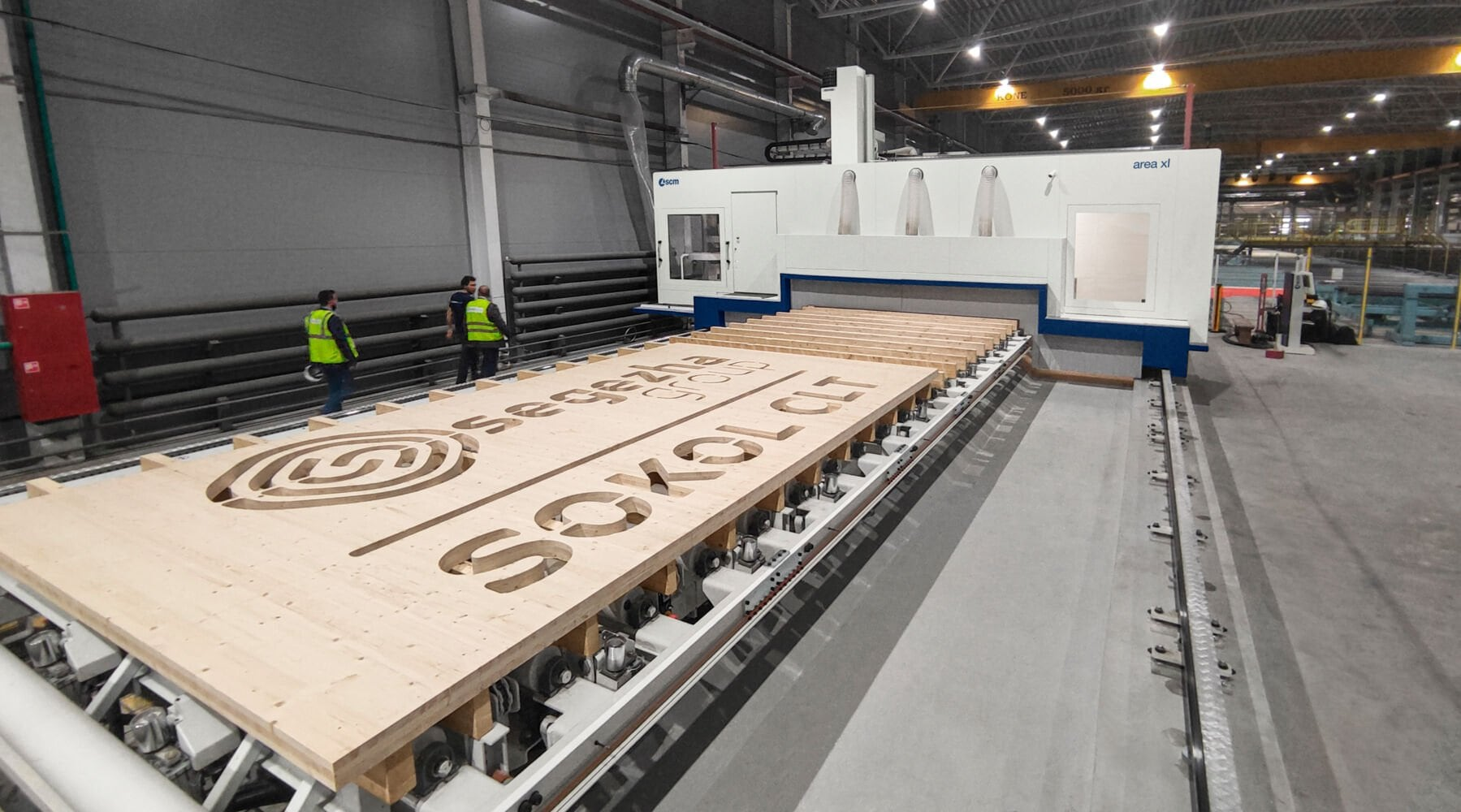 AREA XL takes centre stage at the official opening of the first Russian CLT panels production plant