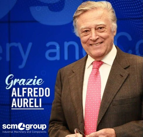 Scm Group would like to thank Alfredo Aureli for his significant contribution to the growth and values of the company