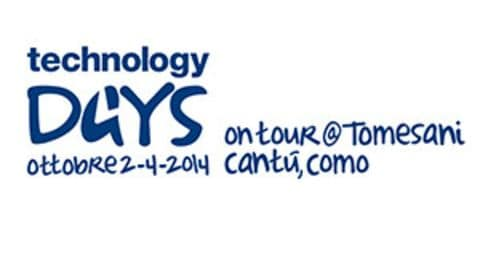 Technology Days on tour@Tomesani