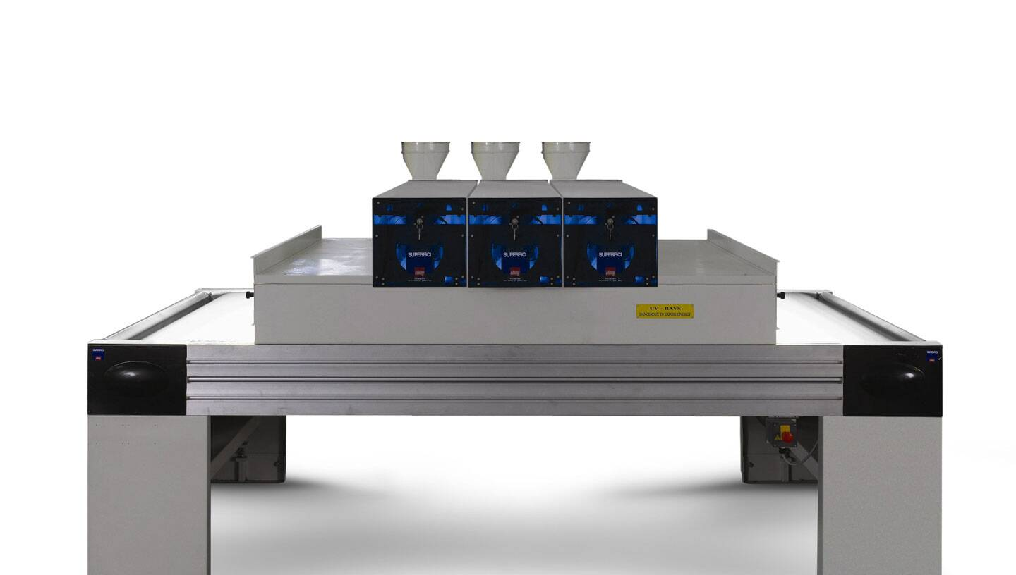 Finishing systems - UV dryers - SELECURE - UVM1 PLUS