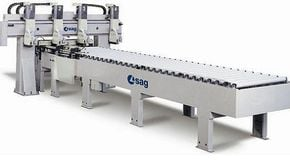 Throughfeed Longitudinal Beam Saws Sag SML - SCM Group
