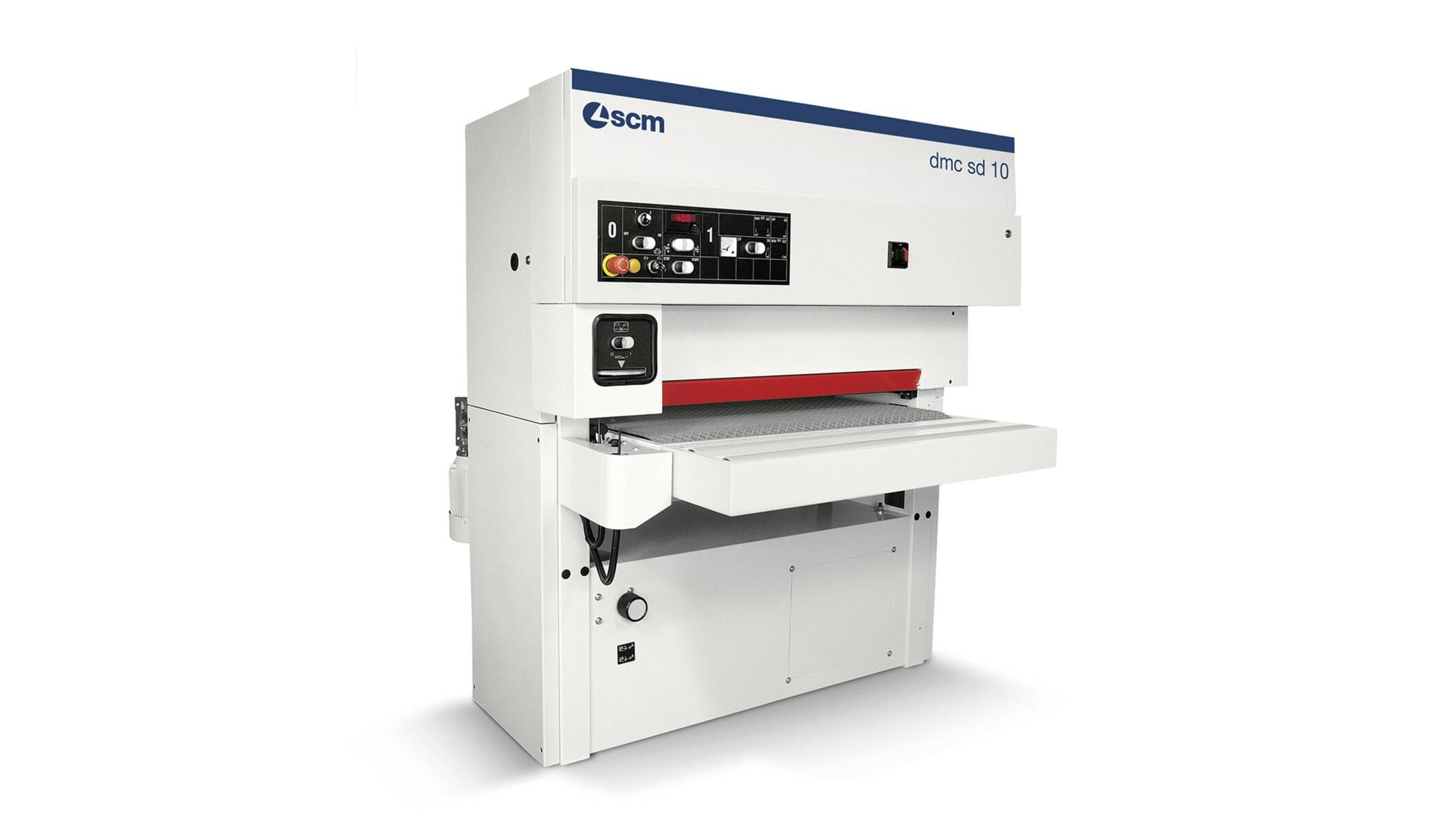 Wide belt sanders - Automatic sanding and calibrating machines - dmc sd 10