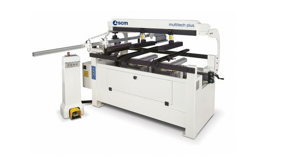Semi-automatic Boring Machine Multitech Plus - SCM Group