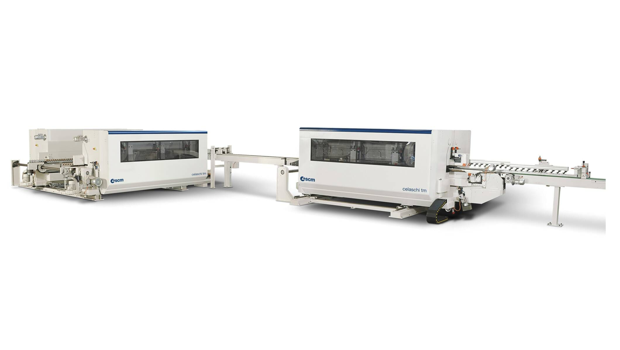 Profiling machines and double-end tenoners - Profiling machine for flooring - celaschi tm