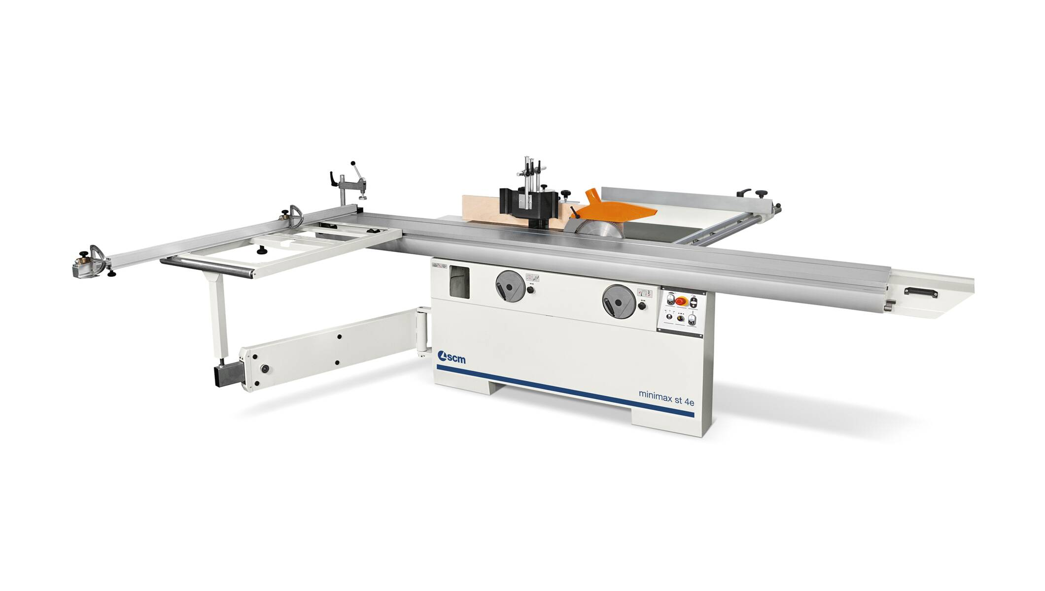 Joinery machines - Saw / shaper combination machines - minimax st 4e