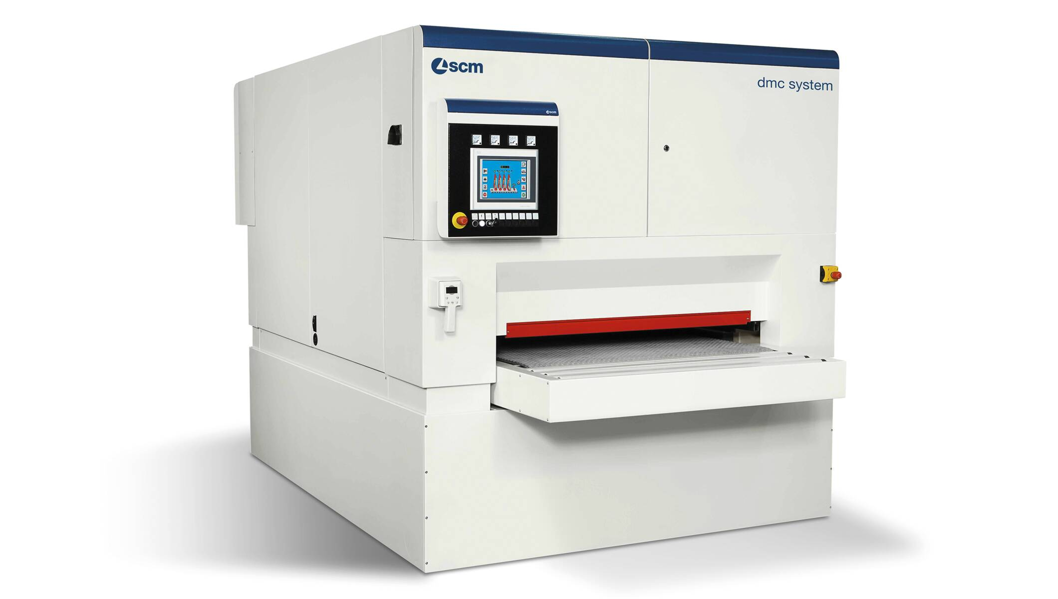 Wide belt sanders - Automatic sanding and calibrating machines - dmc system t7 1350