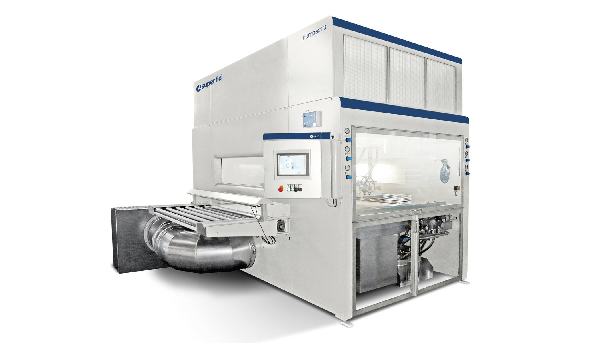 Finishing systems - Spraying machines - gls 1300 - glass line