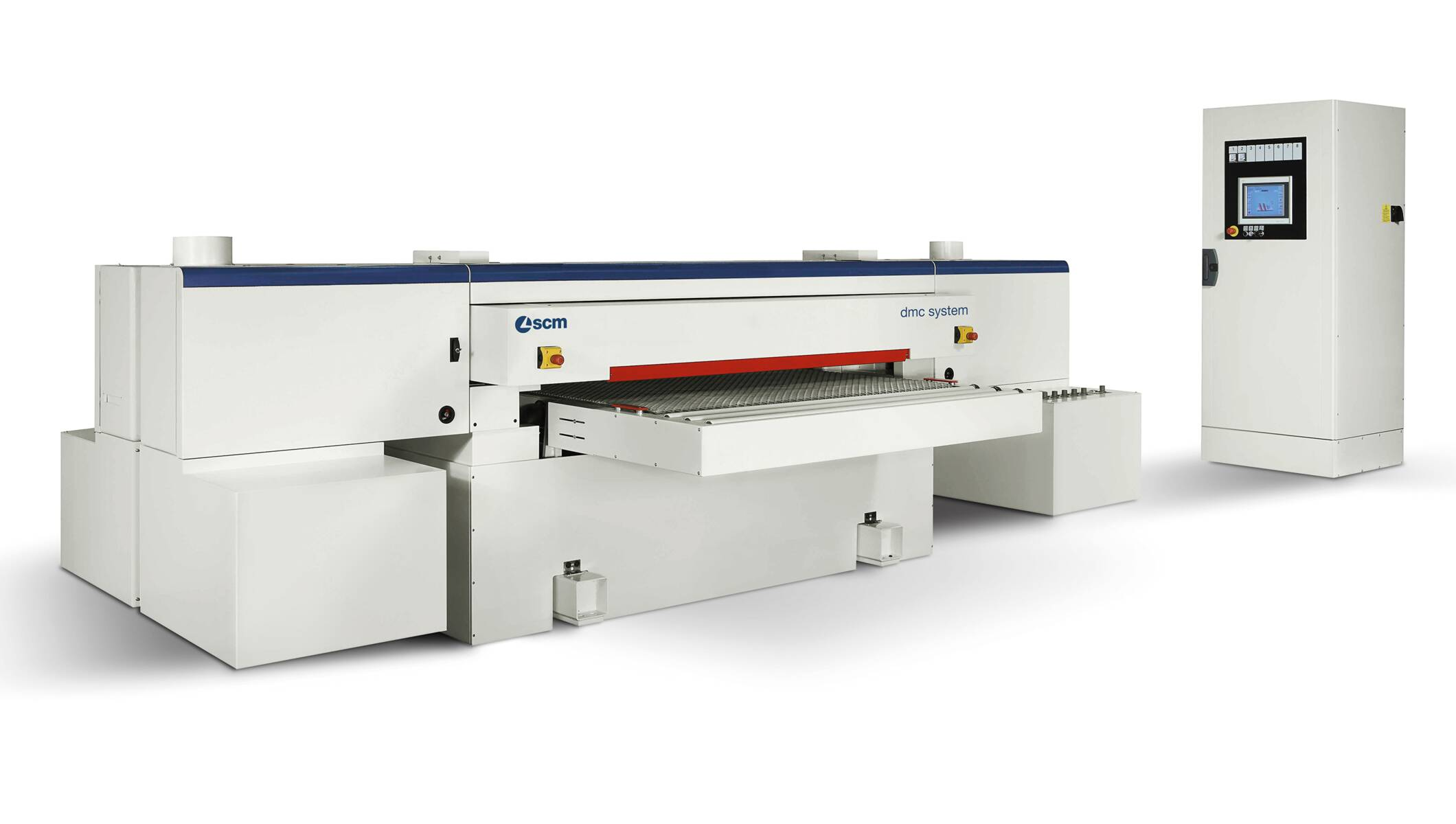 Wide belt sanders - Automatic sanding and calibrating machines - dmc system tt 1650