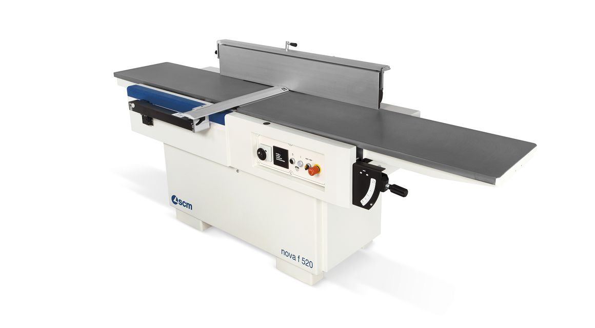 Wood Surfacer Planer F 520 Nova - F 410 Nova - SCM Group