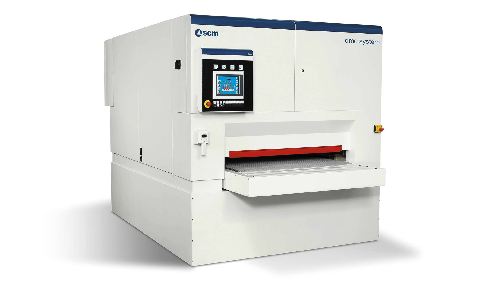 Wide belt sanders - Automatic sanding and calibrating machines - dmc system t3 1350