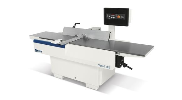 Wood Surfacer Planer F 520 Class - F 410 Class - SCM Group