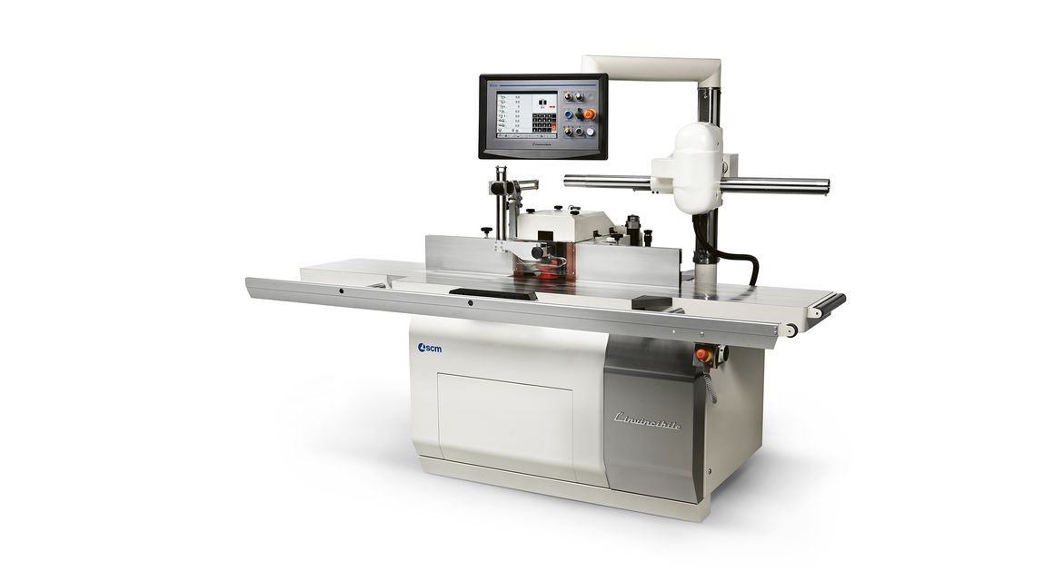 Vertical Moulder l'Invincibile TI 7 - SCM Group