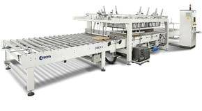 Packaging system Die-Cutted Cardboard Foil Pack C 100 - SCM Group