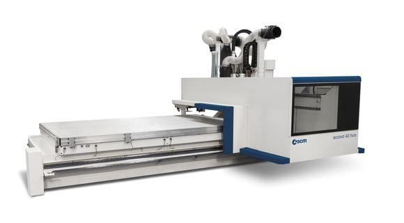 Centros de usinagem CNC plástico Accord 40 FX-M- SCM Group