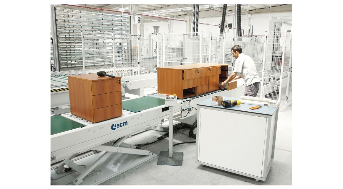 Complete Assembly and Packaging Lines - SCM Group