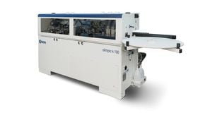 Single-Sided Automatic Edge Bander Olimpic K 100 - SCM Group
