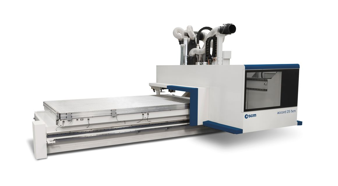 accord 25 fxm cnc machining centre