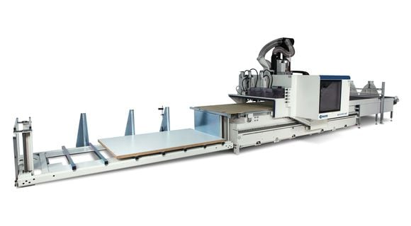 Centros de usinagem CNC Ciclo Produtivo Completo Accord NTS - SCM Group