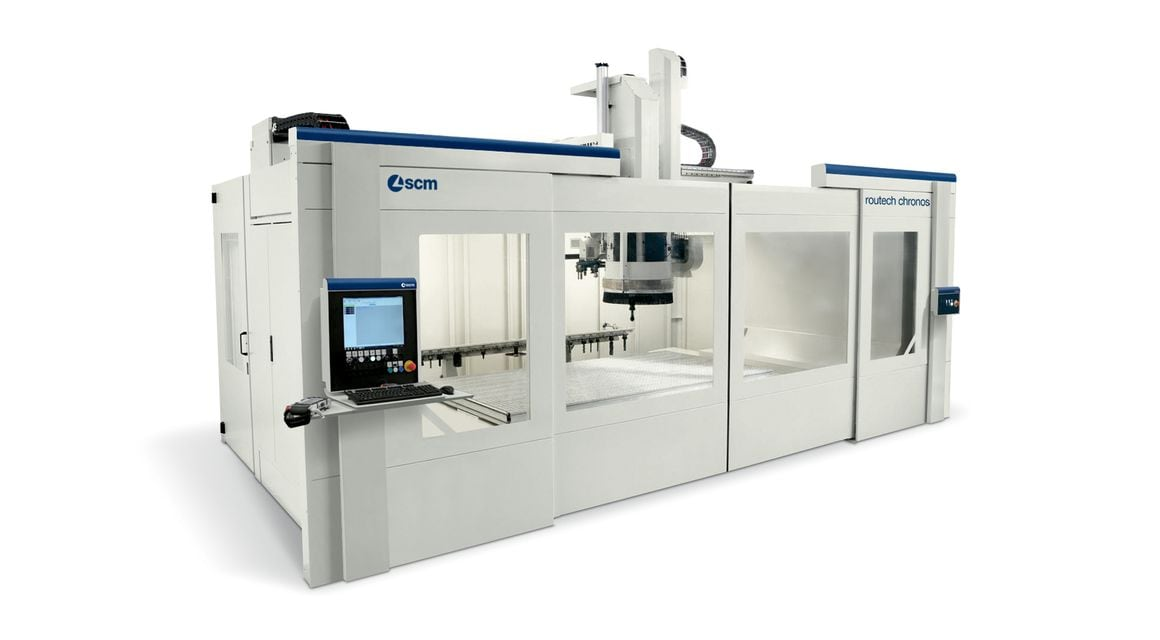 Compact Universal Machining Centre Routech Chronos - SCM Group