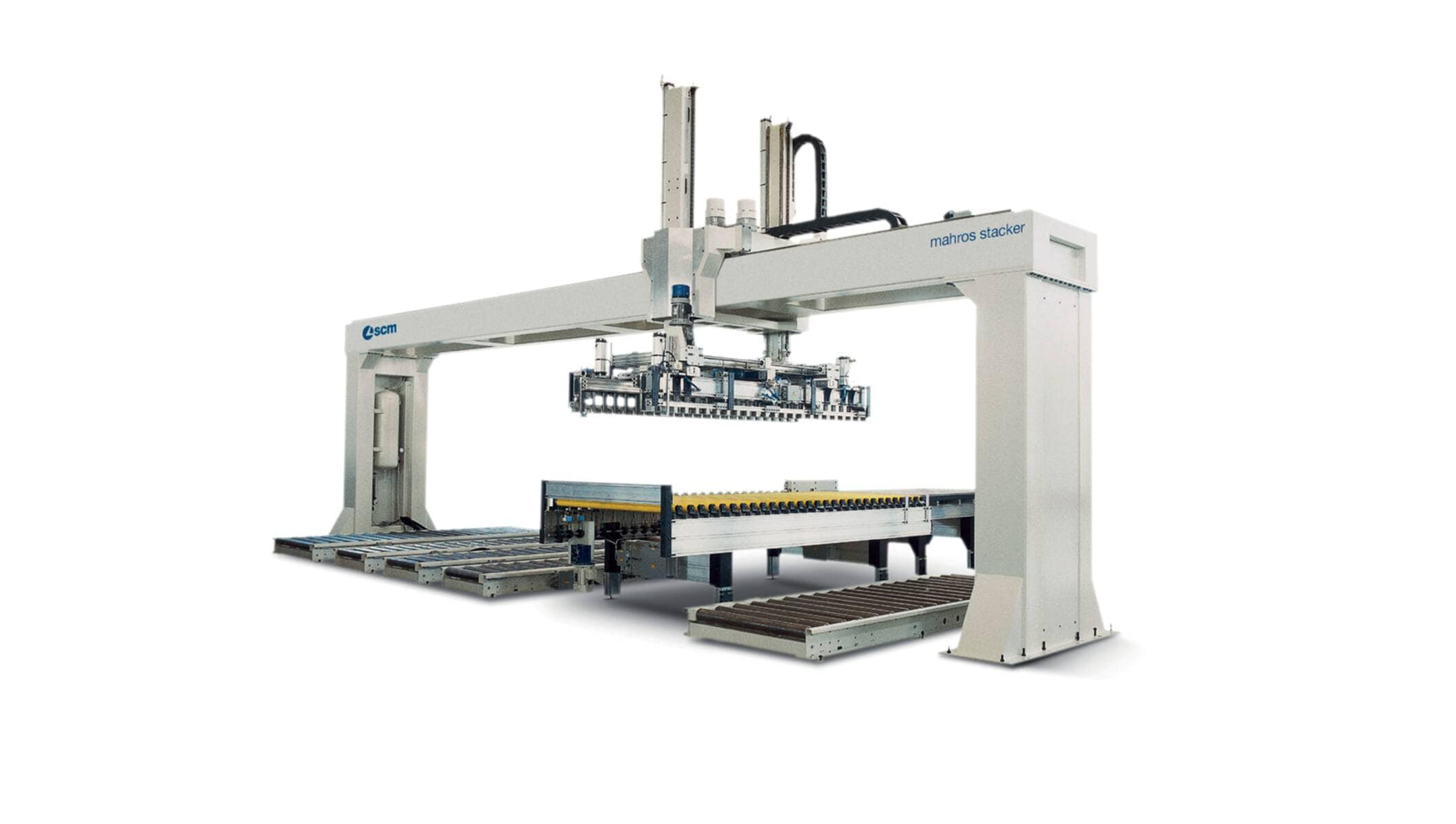 Automation systems - Machines for automation systems - mahros stacker
