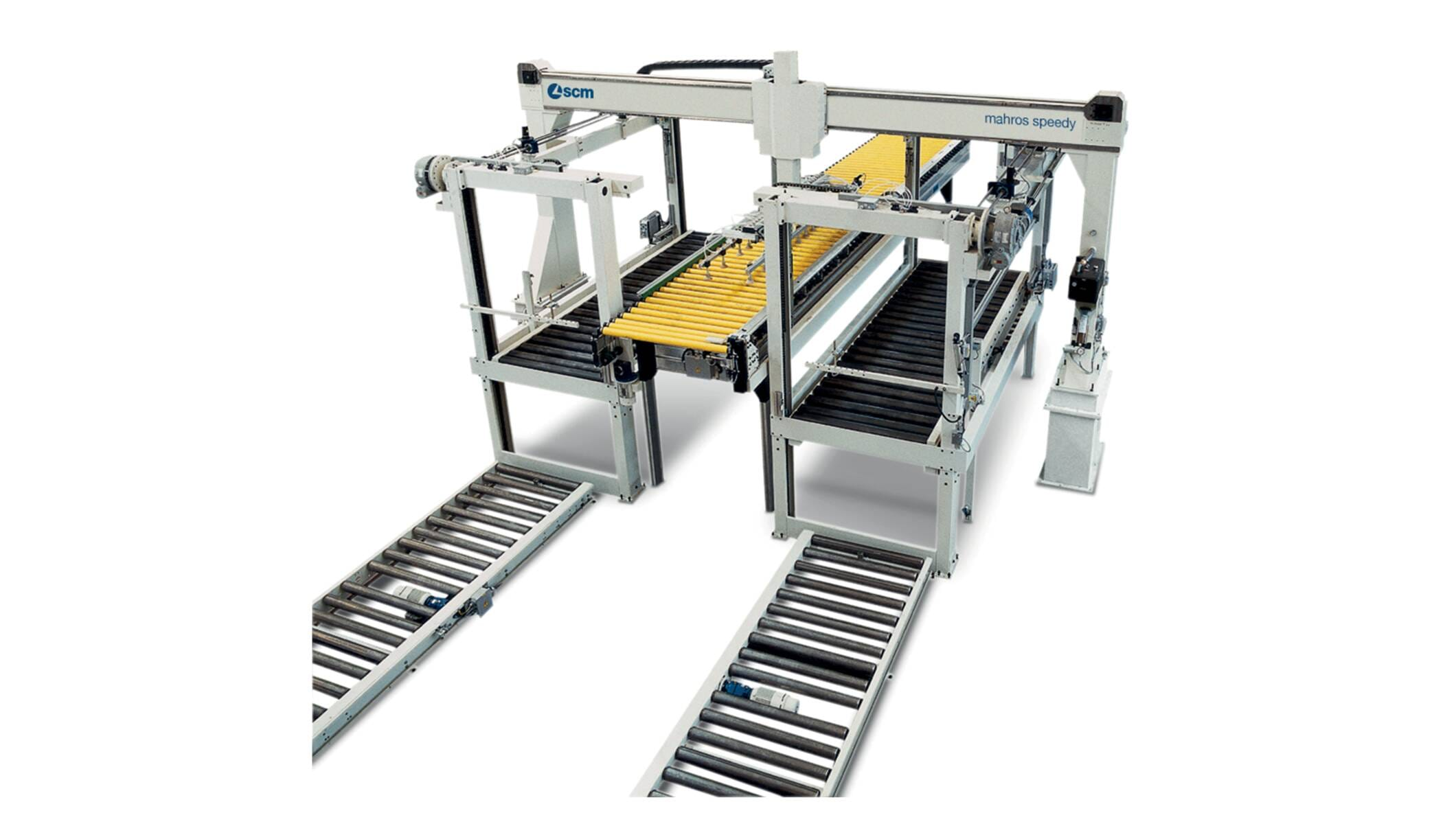 Automation systems - Machines for automation systems - mahros speedy