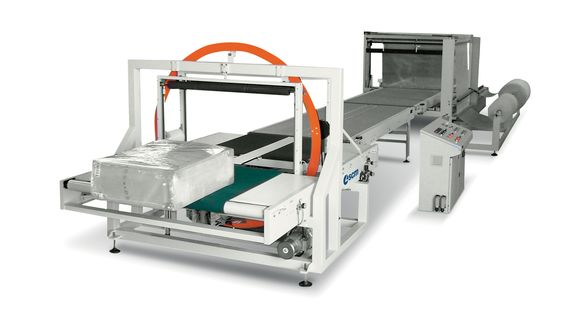 Automated Packaging System with Polythene Pack F 100 - SCM Group
