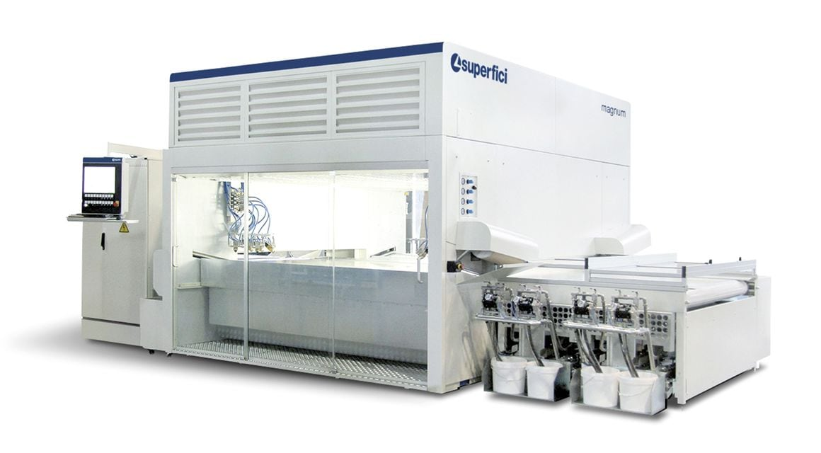 Oscillating Spraying Machine Magnum - SCM Group