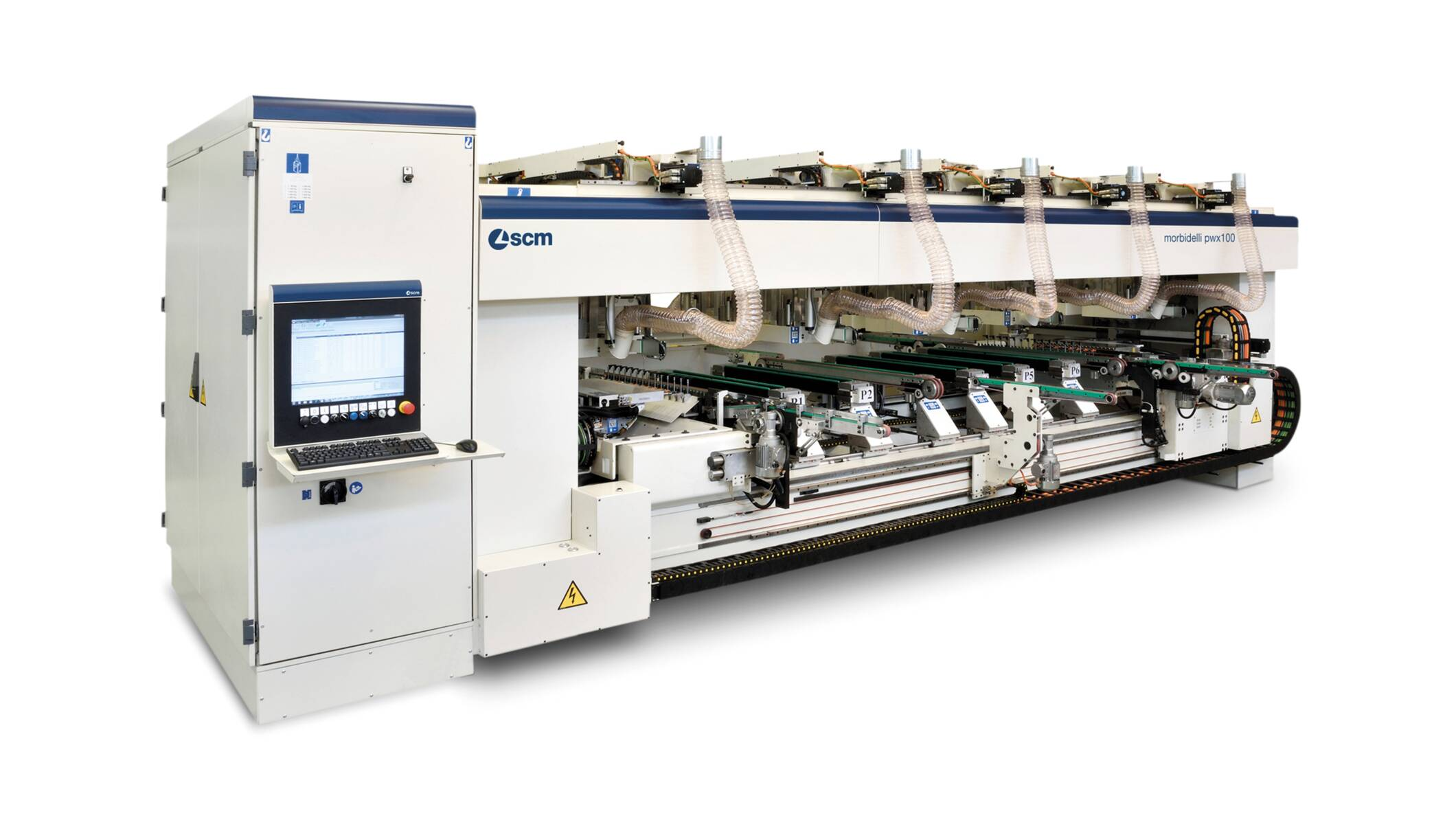 Drilling solutions - Automatic drilling machines - morbidelli pwx100