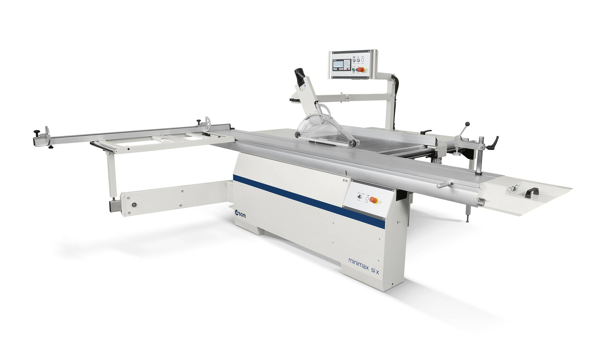 Joinery machines - Sliding table saws - minimax si x