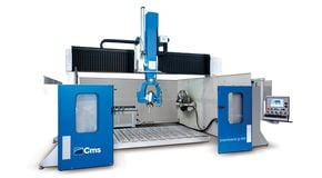 Brembana G-REX - 5/6 Interpolated Axes Machining Centre - CMS Stone