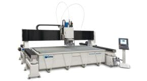 Brembana Aquatec - Waterjet Cutting Robot - CMS Glass